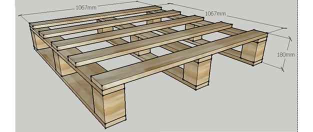 Pallet gỗ theo tiêu chuẩn Bắc Mỹ